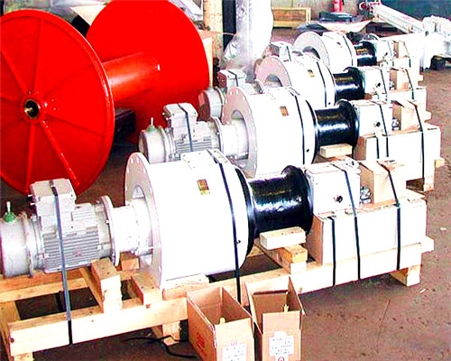 Vertical marine capstan anchor winch windlass for boats