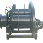 Small hydraulic winch