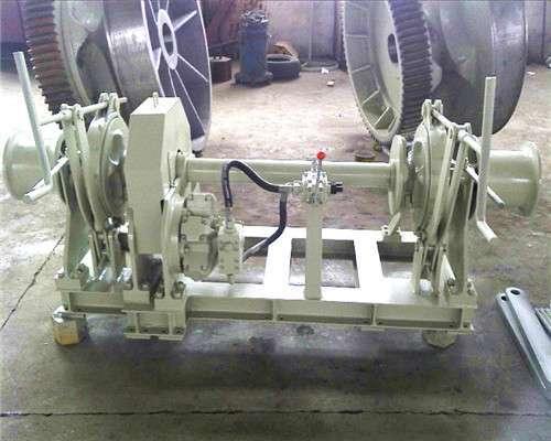 17.5mm Hydraulic double anchor sprocket windlass