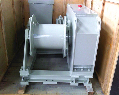 5 ton power winch for boat anchor
