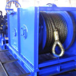 Power anchor winch