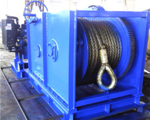 7.5 ton Diesel Power Anchor Winch for Sale