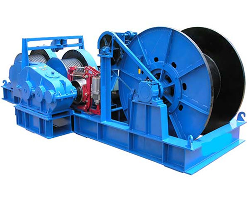 20 ton winches are provided in our group.