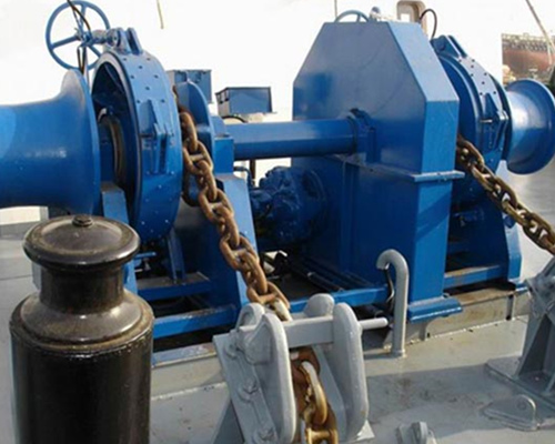 double gypsy hydraulic winch