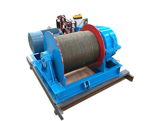 China cable pulling winch