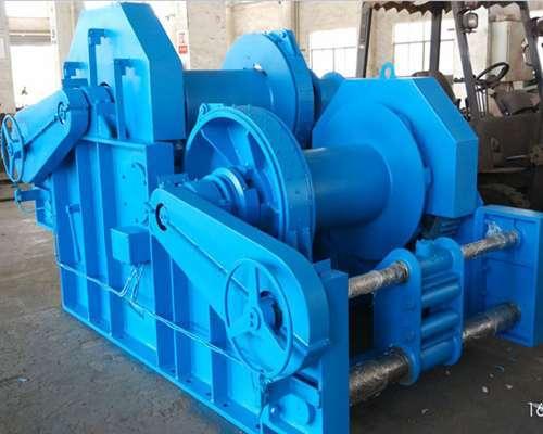 hydraulic deck winch