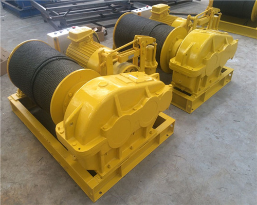 30 ton winch