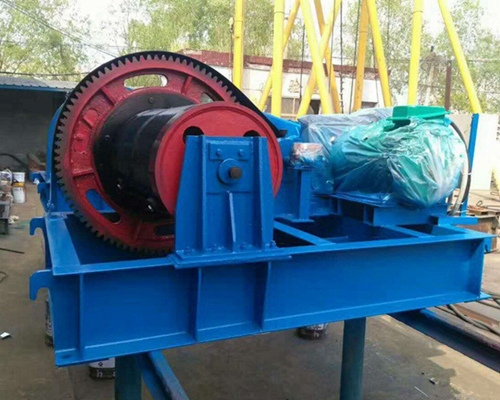 electric construction winch