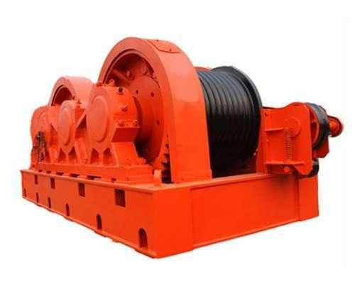 friction mine winch