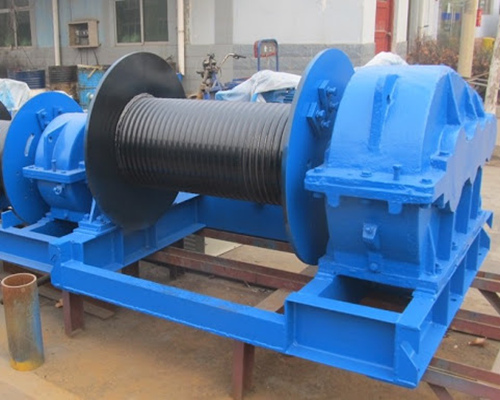 wire industrial winch