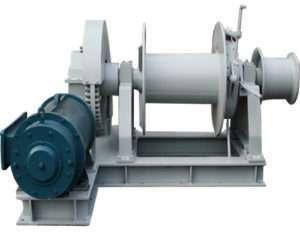 electric mooring winch