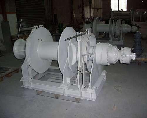 100 ton mooring winch