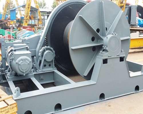 100 ton winch