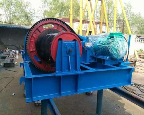 100 ton drum winch