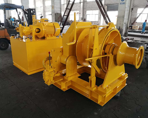6 ton hydraulic winch