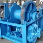 Hydraulic Towing Winch